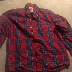 Red checkered long sleeve
